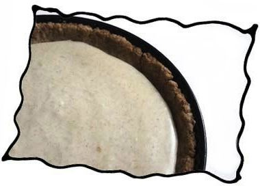 Crumb crust ready to bake