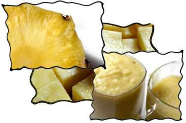 Pineapple puree