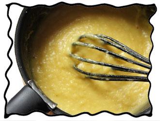 Pineapple custard
