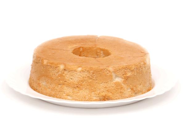 Baked sponge cake