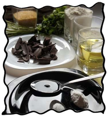 Mint chocolate cake ingredients