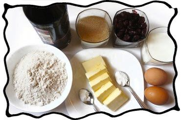 Rum cake ingredients