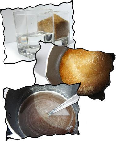 Preparing sugar syrup