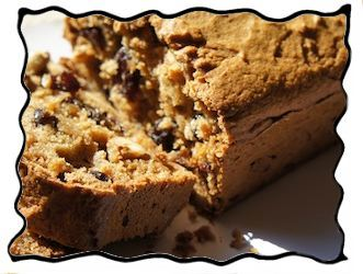 With raisins and nuts inside!