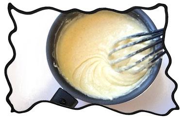 Just made custard!